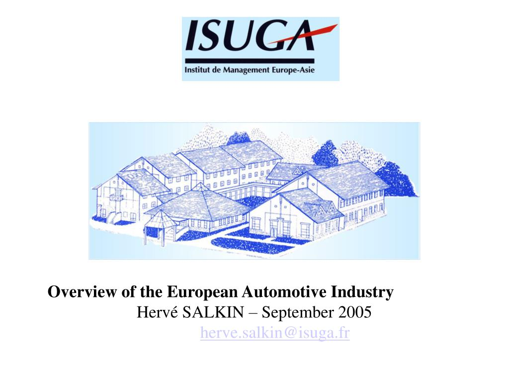Overview of the European Automotive Industry