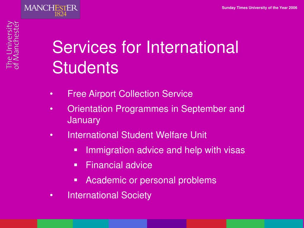 Services for International Students