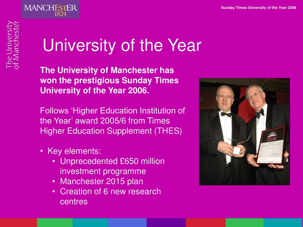 University of the Year