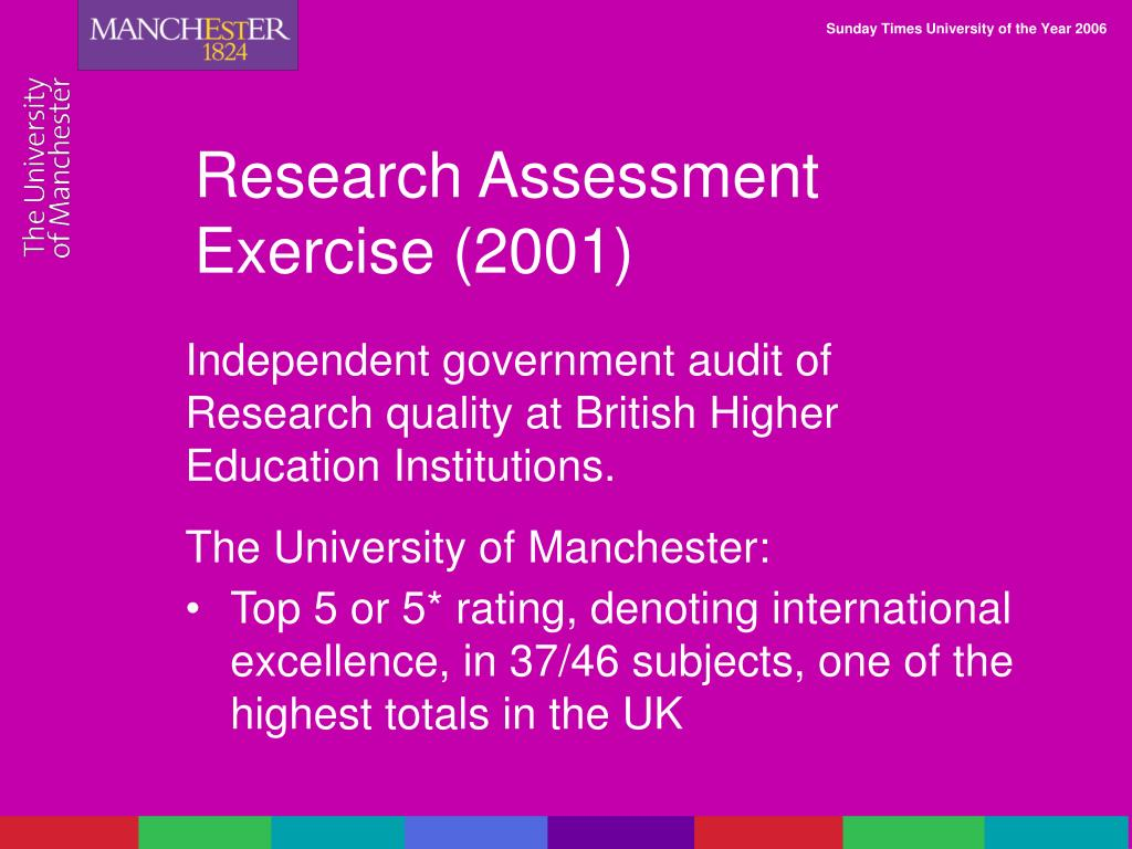 Research Assessment Exercise (2001)