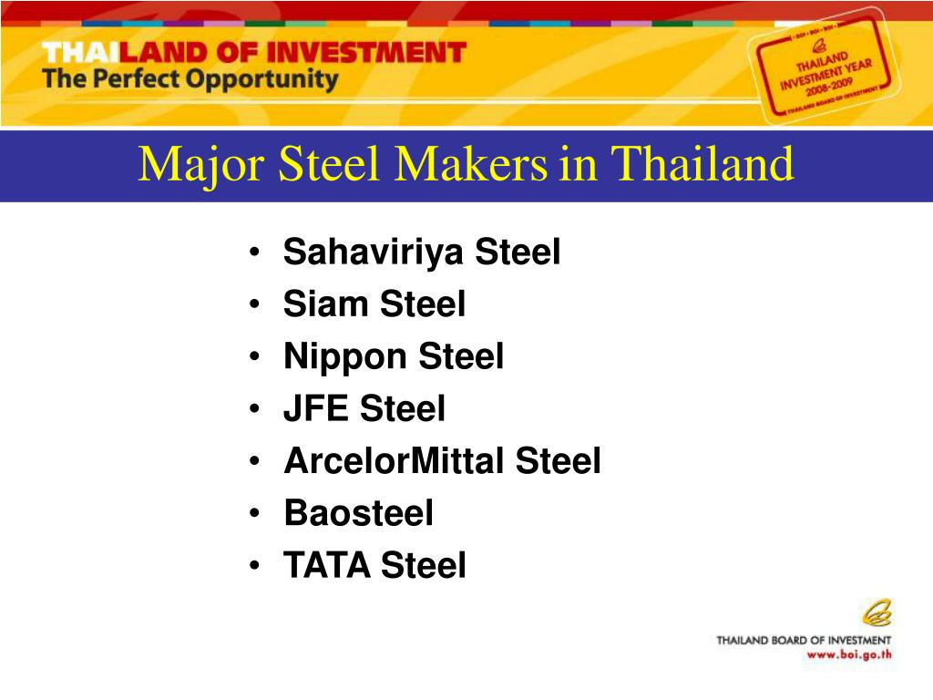 Major Steel Makers
