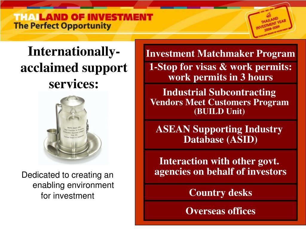 Investment Matchmaker Program