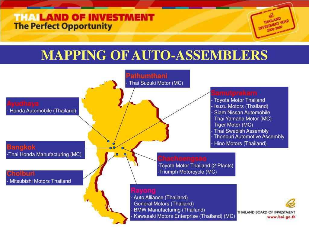 MAPPING OF AUTO-ASSEMBLERS
