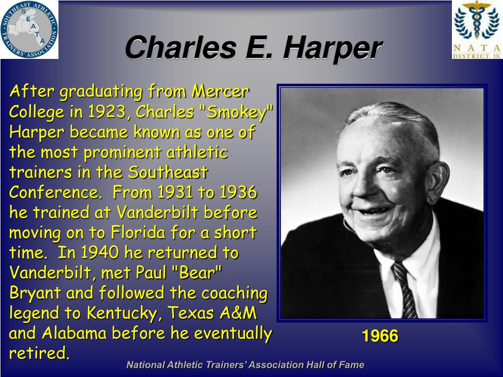 Charles E. Harper