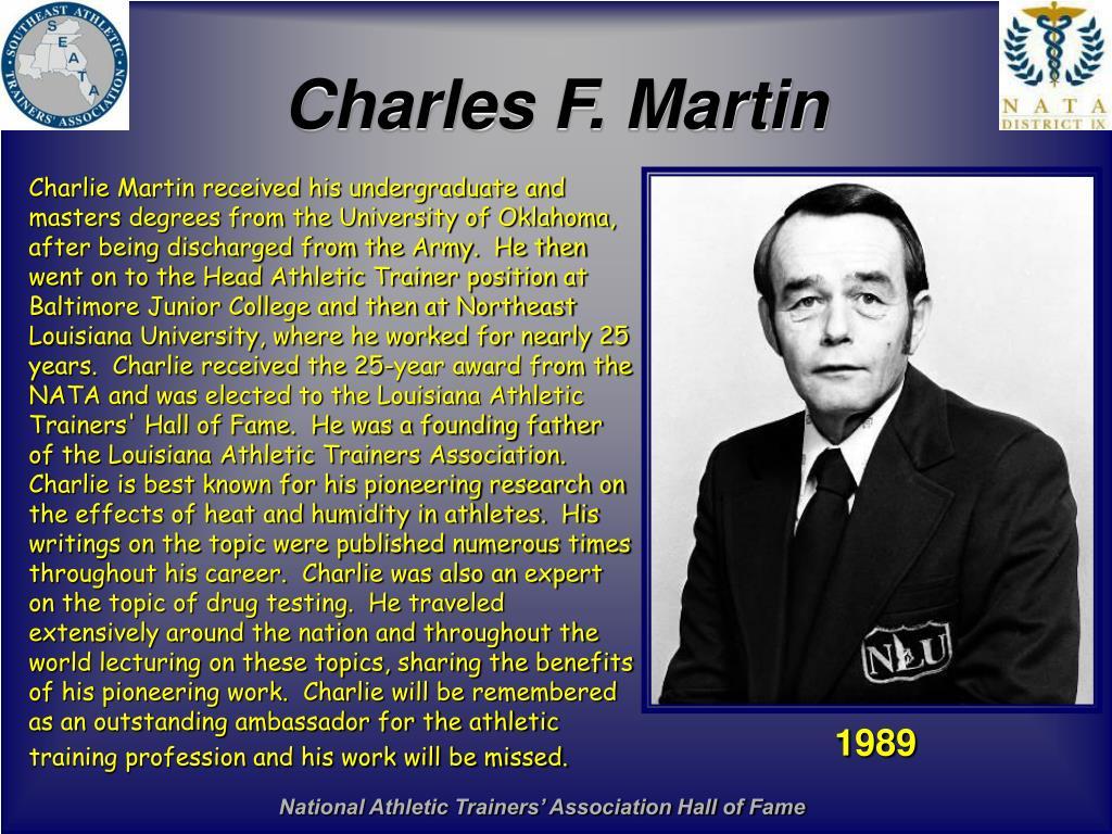 Charles F. Martin