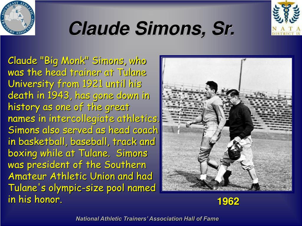 Claude Simons, Sr.
