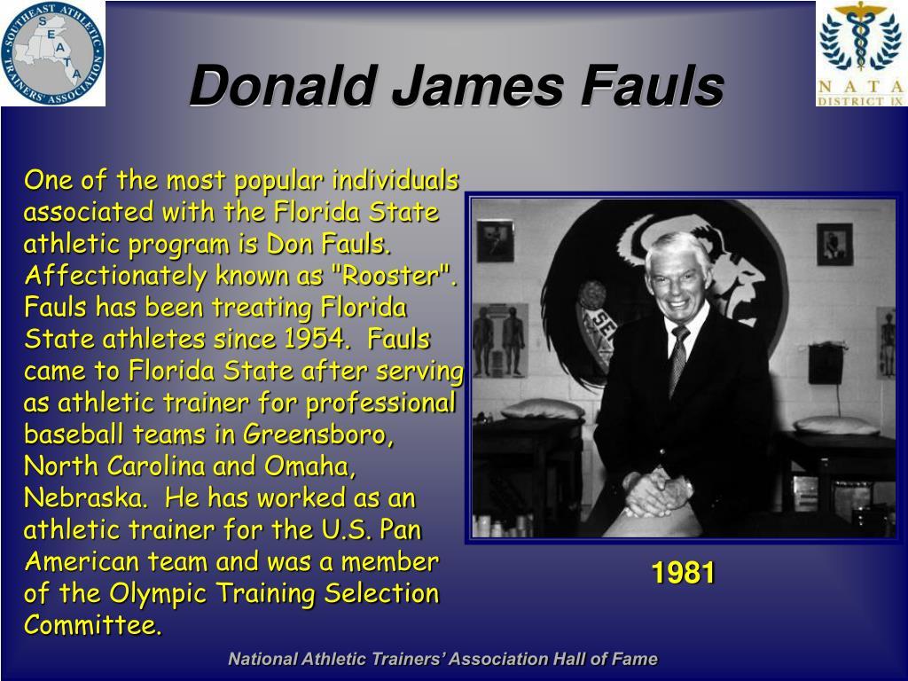 Donald James Fauls