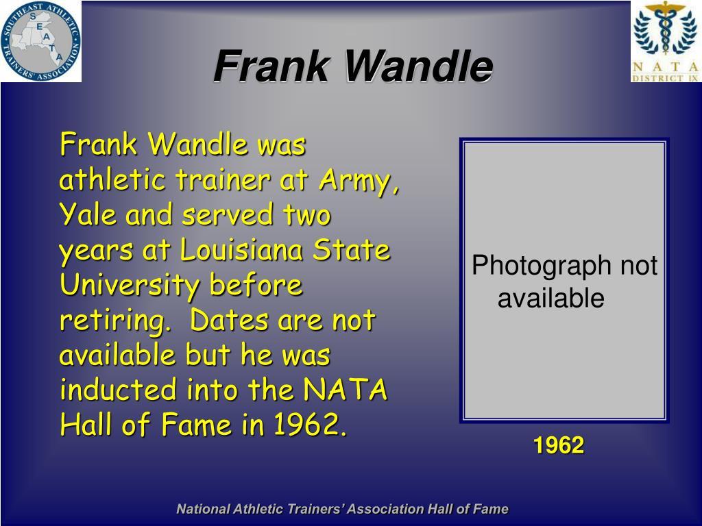 Frank Wandle