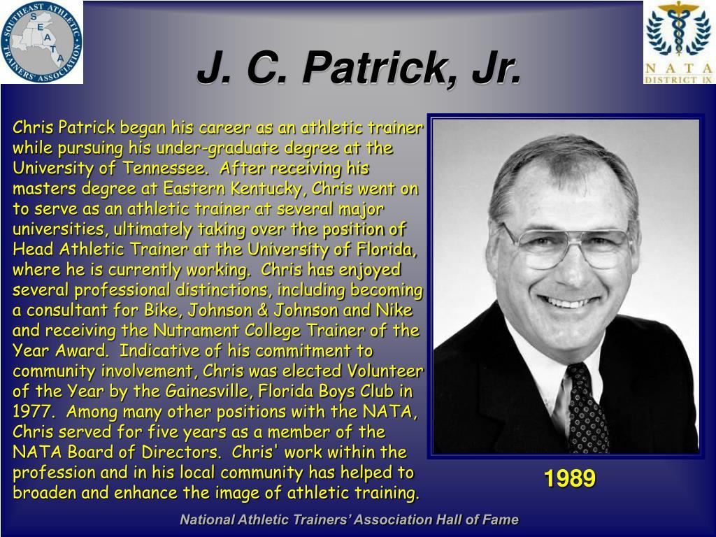 J. C. Patrick, Jr.