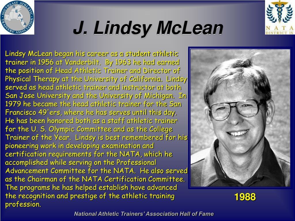 J. Lindsy McLean