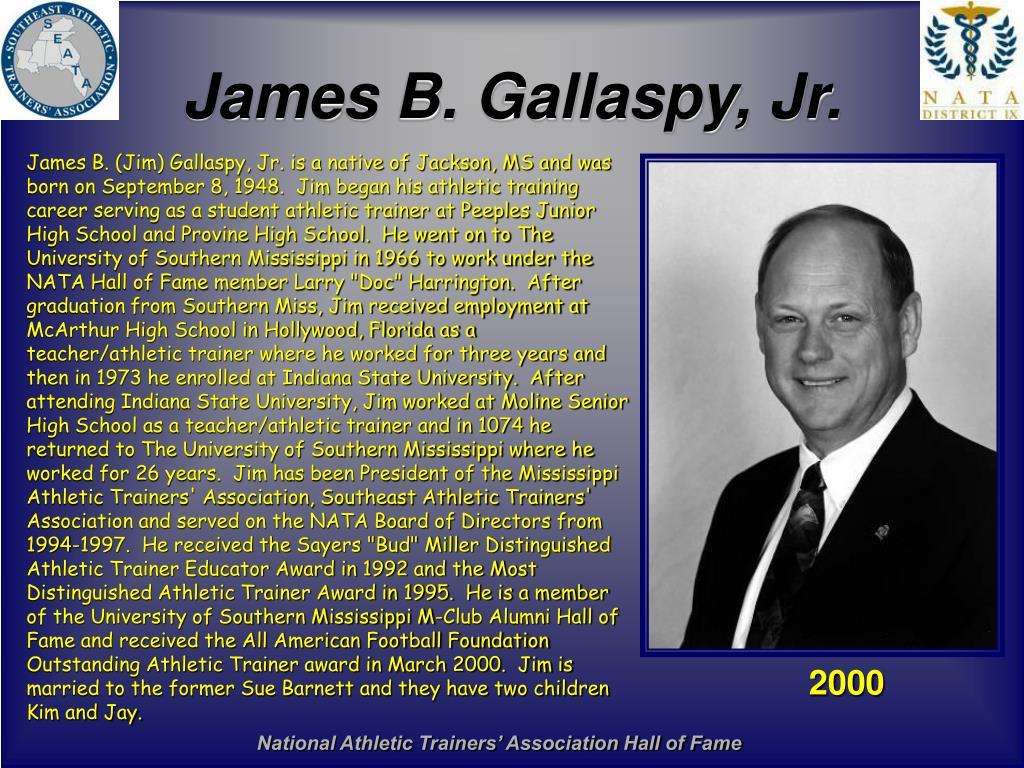 James B. Gallaspy, Jr.