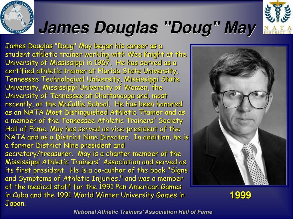 """James Douglas """"Doug"""" May"""