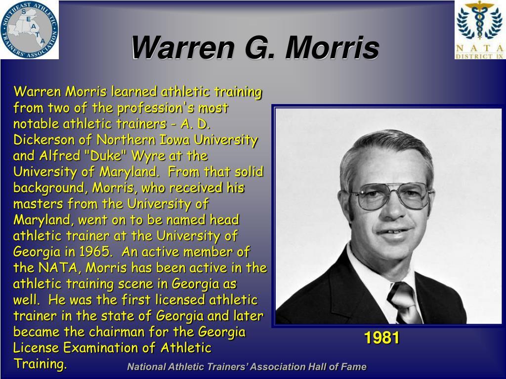Warren G. Morris