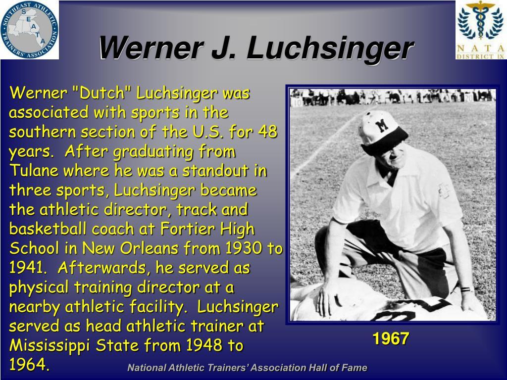Werner J. Luchsinger