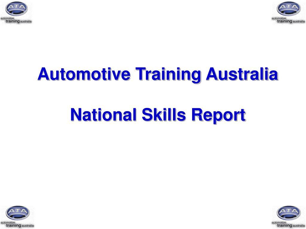 Automotive Training Australia