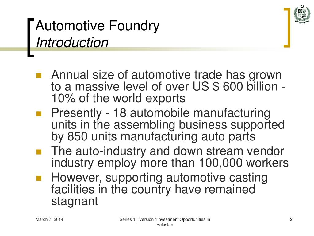 Automotive Foundry