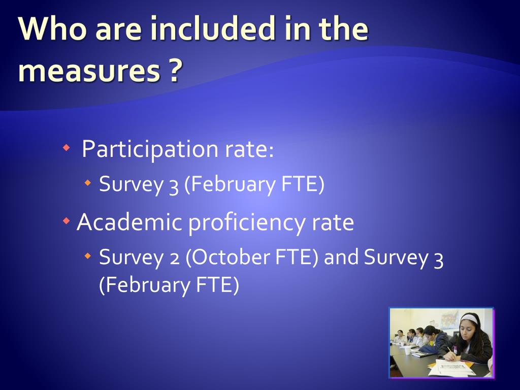 Who are included in the measures ?