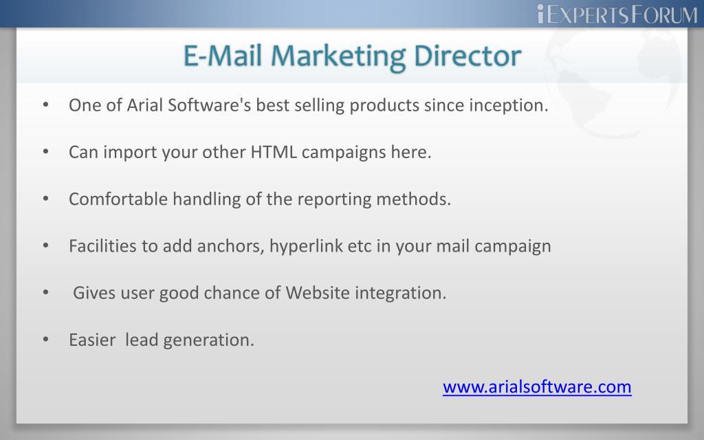 E-Mail Marketing Director