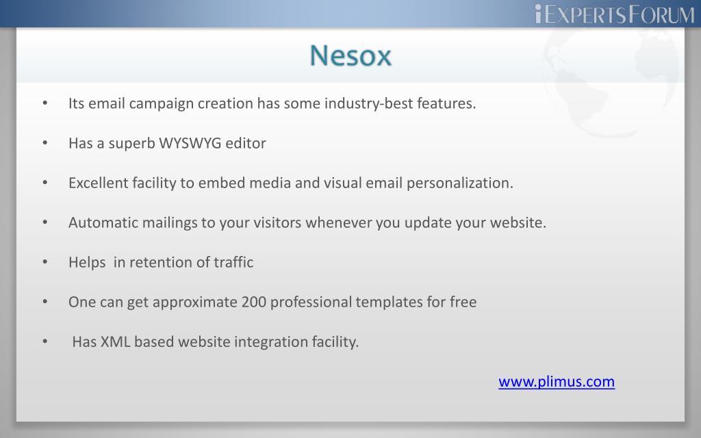 Nesox