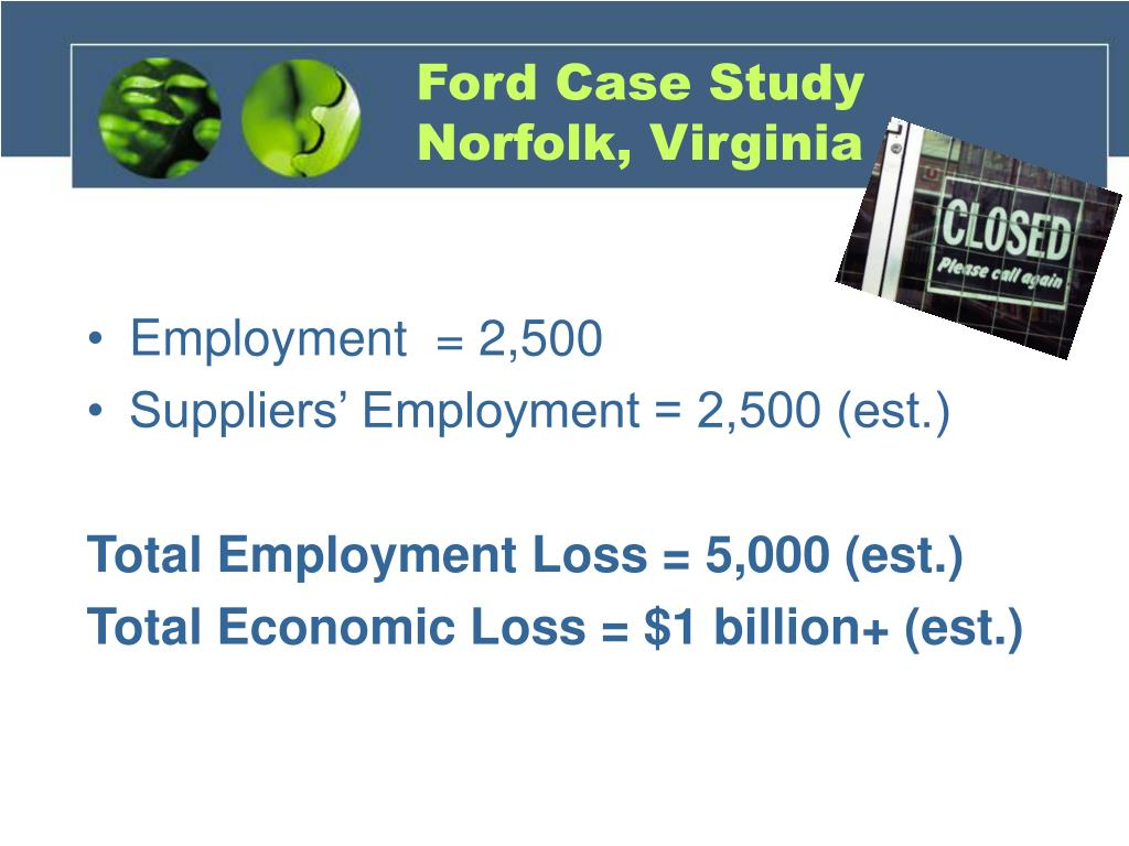 Ford Case Study Norfolk, Virginia