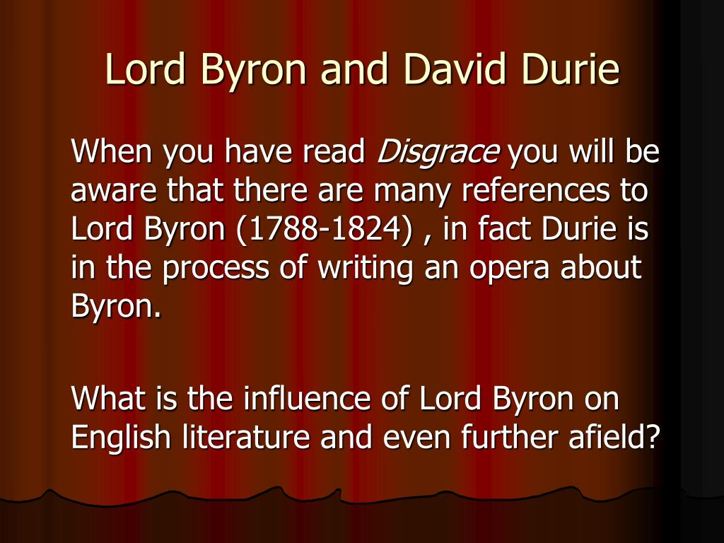romantic era and the byronic hero english literature essay The byronic hero is a character-type found  byronic in the oxford companion to english literature (7 ed) view overview page for this topic related content.