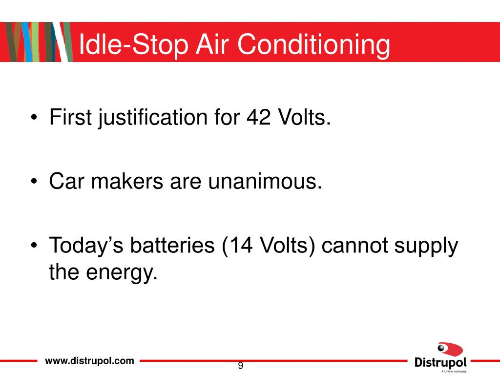 Idle-Stop Air Conditioning
