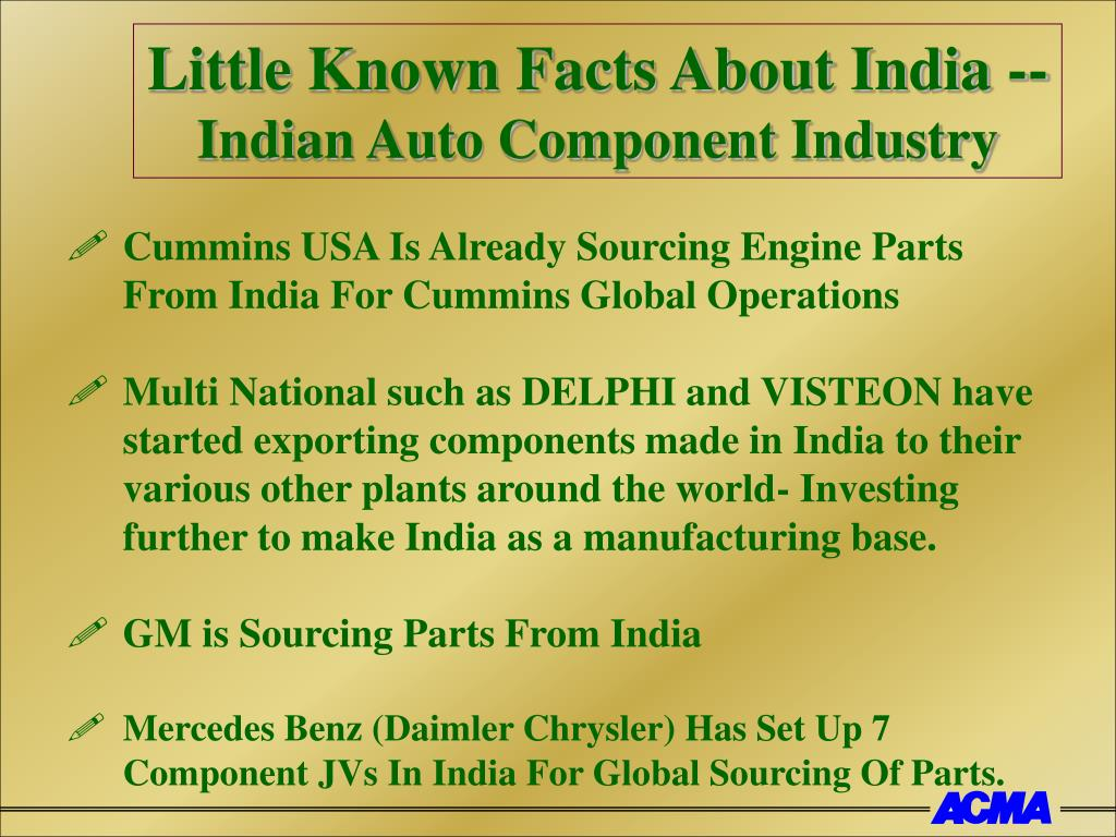 Little Known Facts About India --