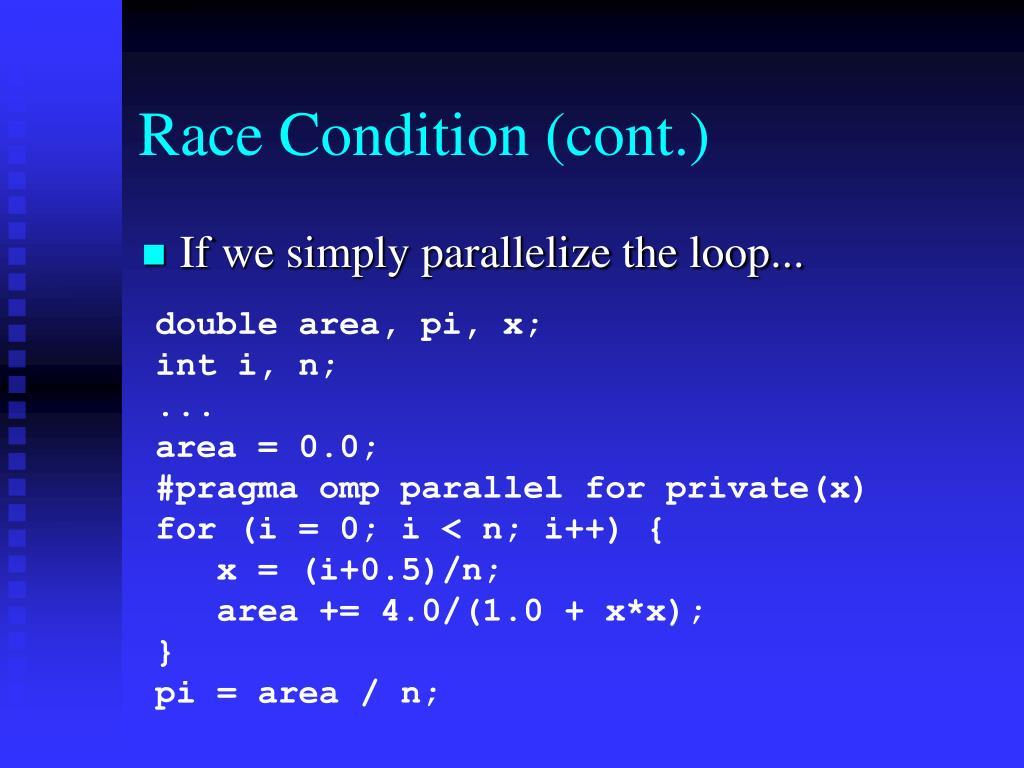 Race Condition (cont.)