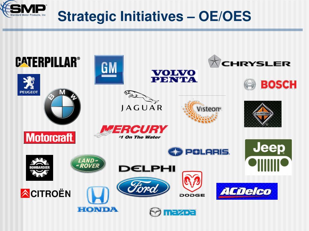 Strategic Initiatives – OE/OES