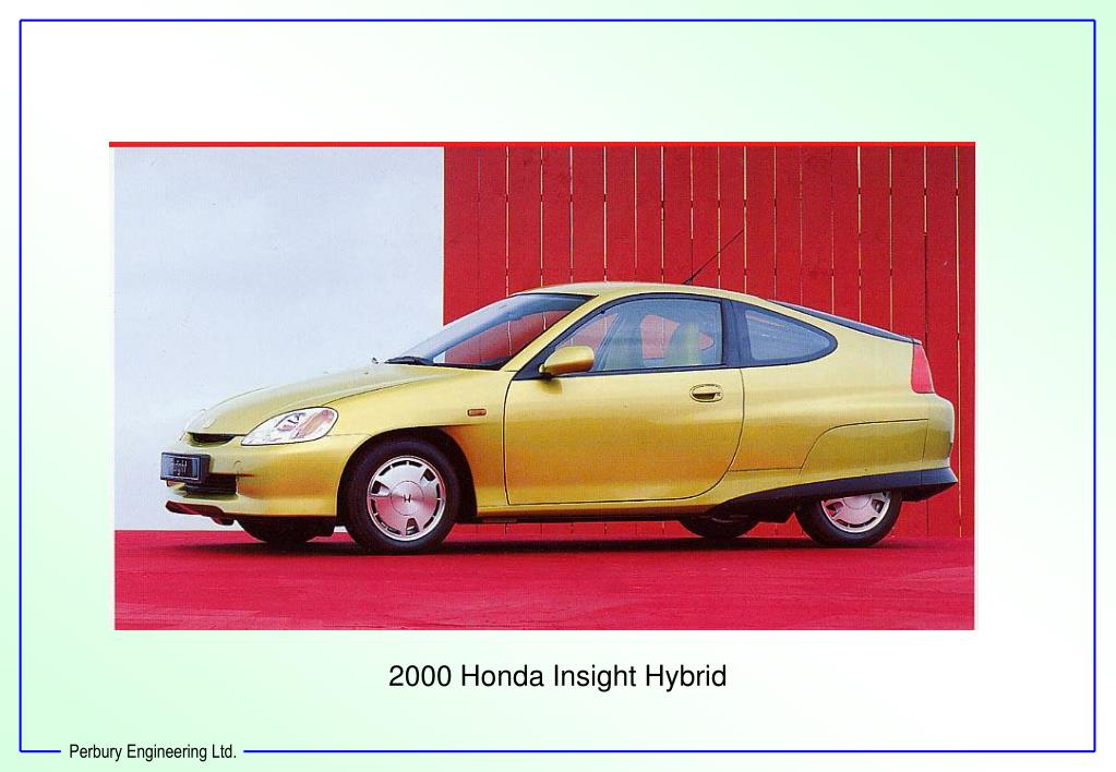 2000 Honda Insight Hybrid
