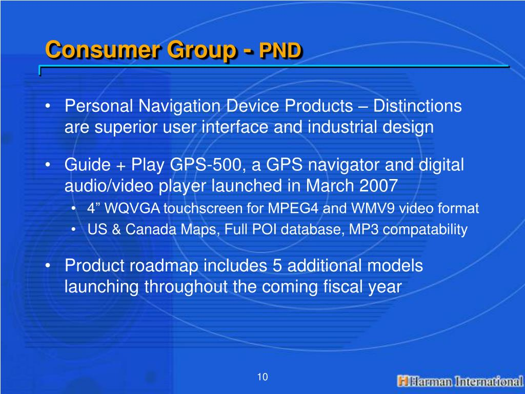 Consumer Group