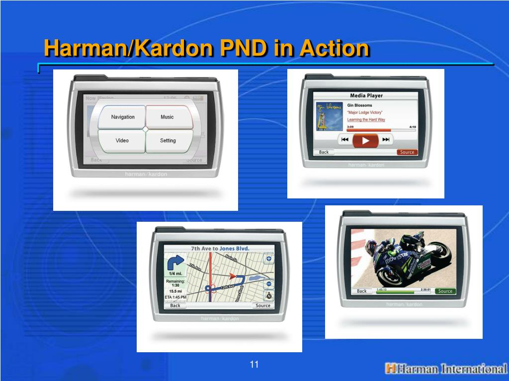 Harman/Kardon PND in Action