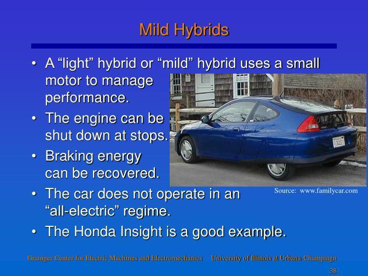 Mild Hybrids