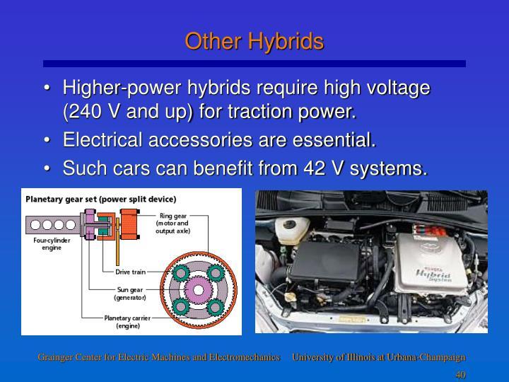Other Hybrids