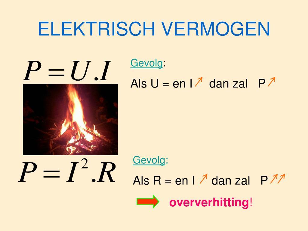 ELEKTRISCH VERMOGEN