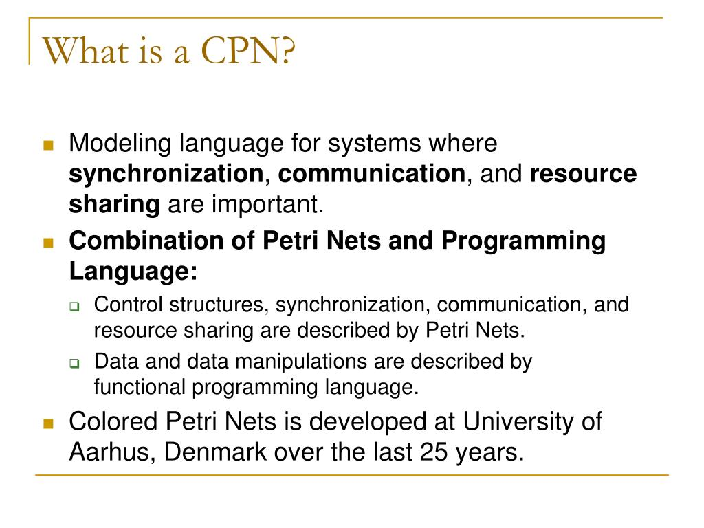 What is a CPN?