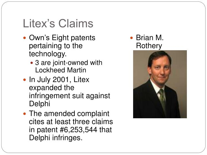 Litex's Claims
