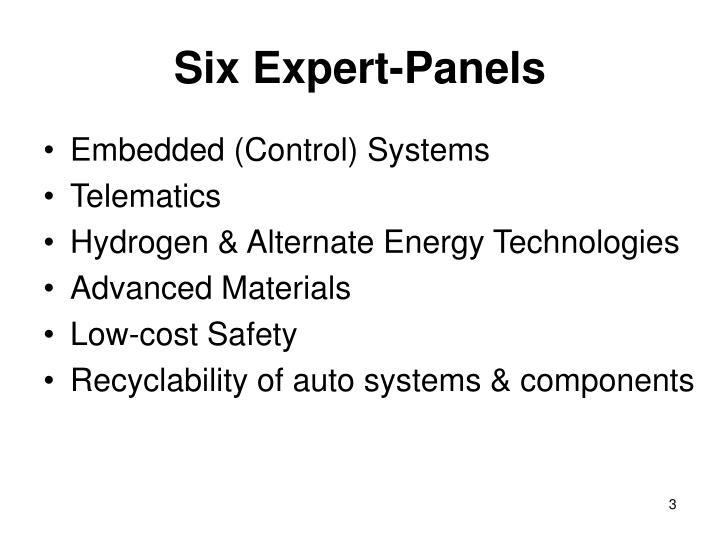 Six Expert-Panels