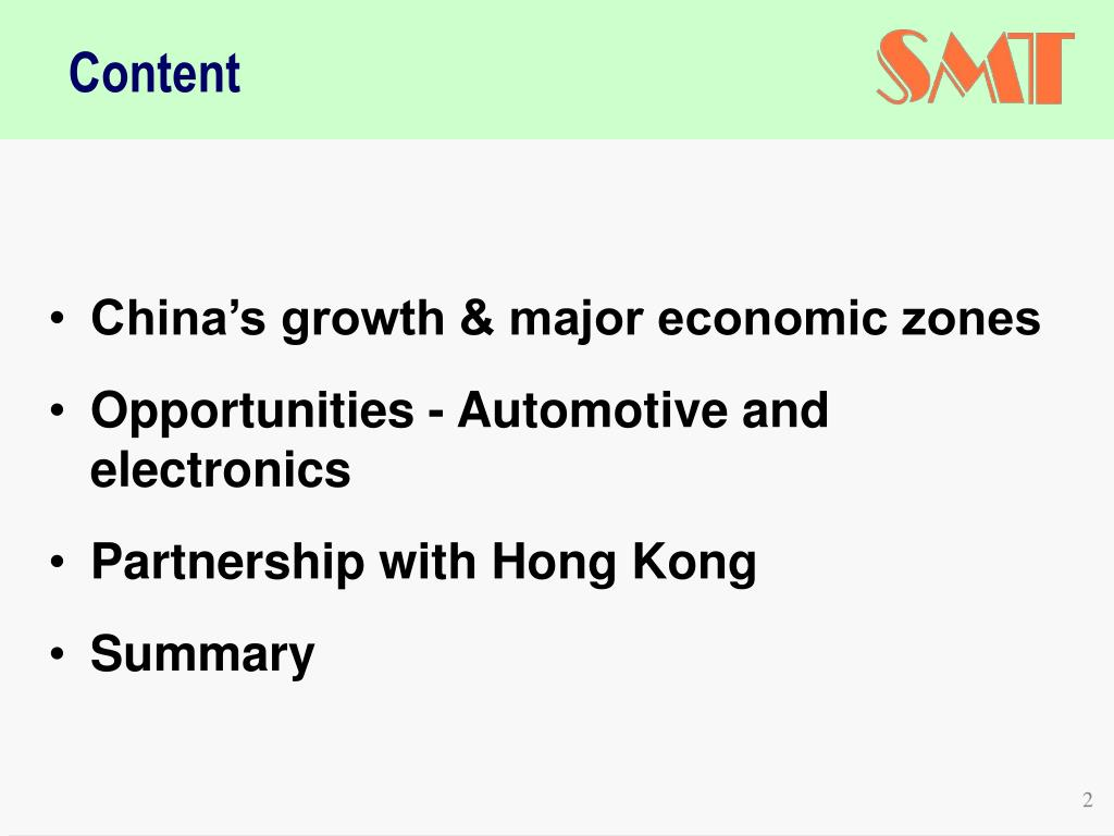 China's growth & major economic zones