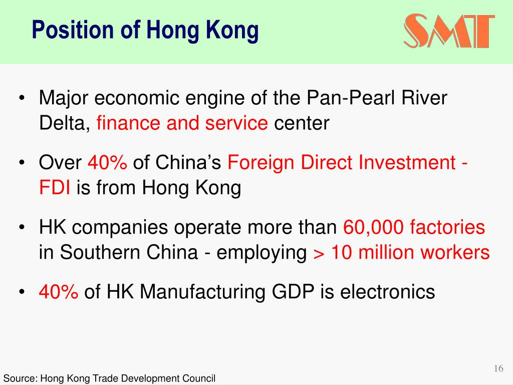 Major economic engine of the Pan-Pearl River Delta,