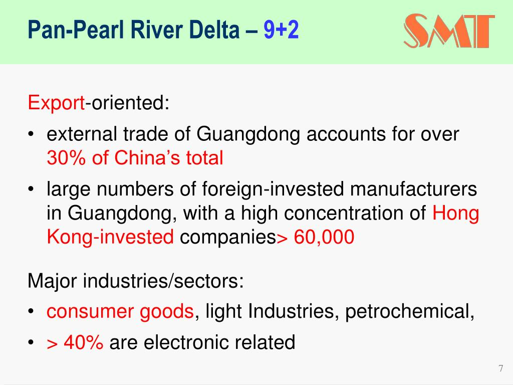 Pan-Pearl River Delta –