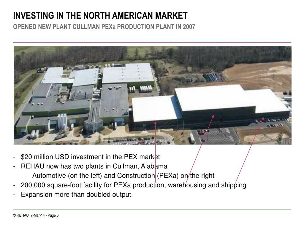 INVESTING IN THE NORTH AMERICAN MARKET