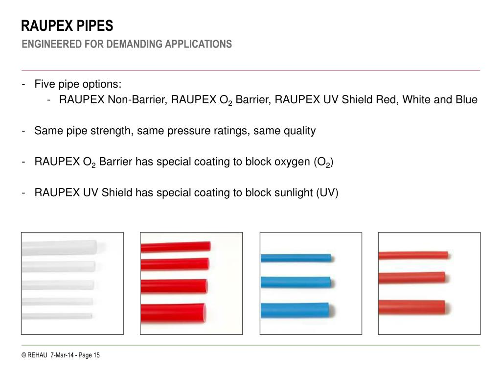 RAUPEX PIPES
