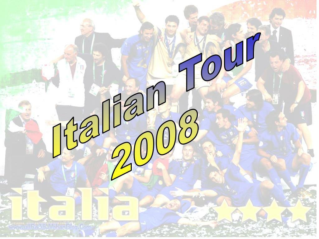 Italian Tour