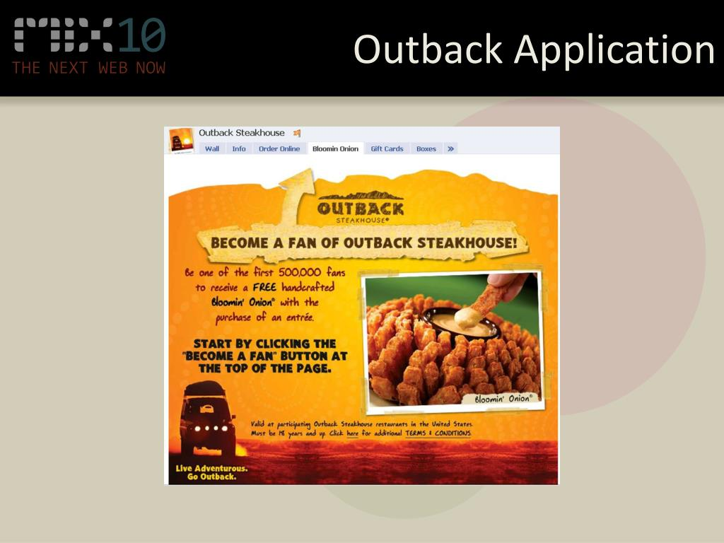 Outback Application