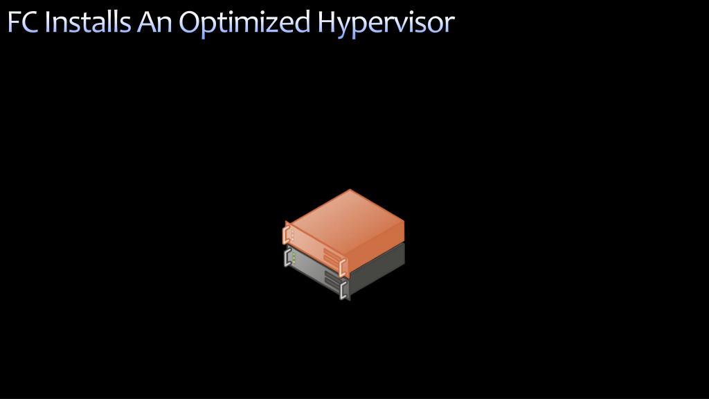FC Installs An Optimized Hypervisor