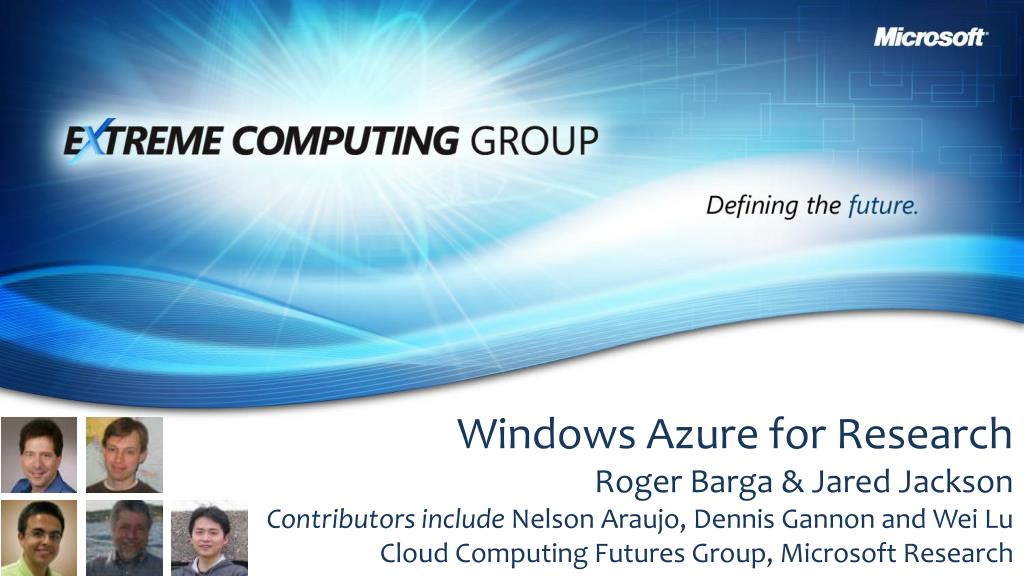 Windows Azure for Research