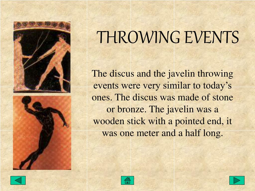 THROWING EVENTS