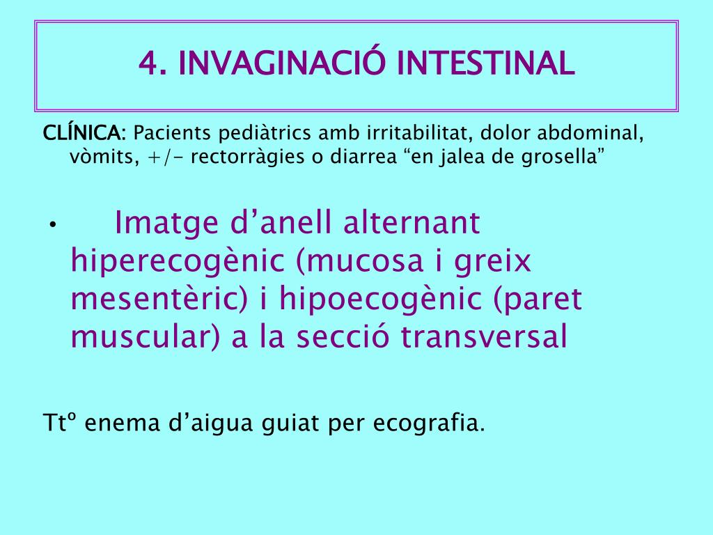 4. INVAGINACIÓ INTESTINAL