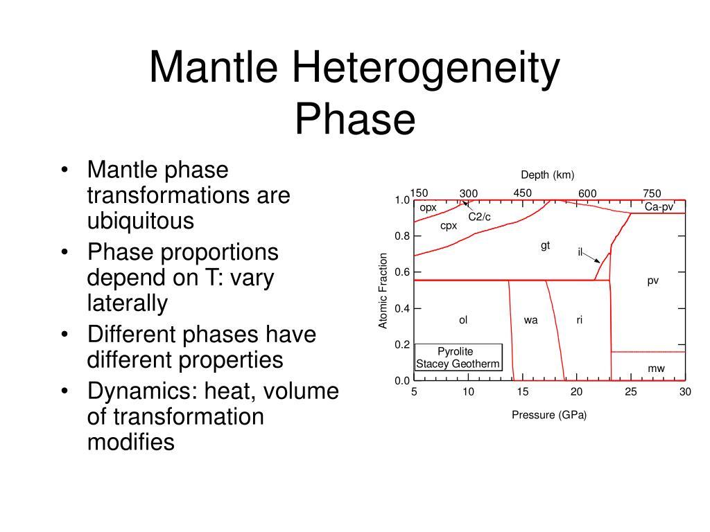Mantle Heterogeneity